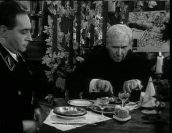 Штирлиц и пастор Шлаг в кафе
