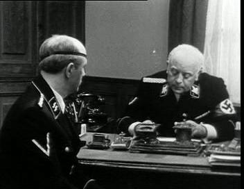 Мюллер и Айсман говорят о Штирлице